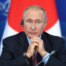 V. Putinas: naivu tikėtis greitai išspręsti ginčą su Japonija dėl salų