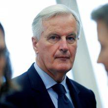 """M. Barnier perspėja: bet koks """"Brexit"""" atidėjimas Europai kainuos"""