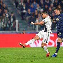 """Čempionų lyga: """"Manchester United"""" palaužė """"Juventus"""" ekipą"""