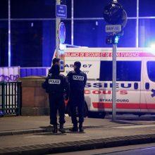Per šaudymą Strasbūre žuvo žmogus, šeši sužeisti, o užpuolikas slapstosi