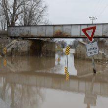 Per potvynius Misuryje žuvo 13 žmonių