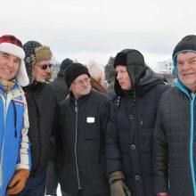 Automobilių sporto veteranų slalomo nugalėtoja – Kauno komanda