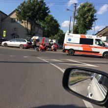 Per avariją Vilijampolėje sužaloti du žmonės