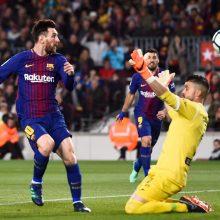 """L. Messi atitempė """"Barcelona"""" į dar vieną pergalę"""