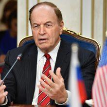 Amerikiečių senatorius: susitikimuose Maskvoje aptartas kišimasis į JAV rinkimus