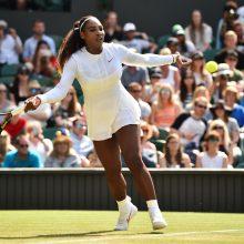 Amerikietė S. Williams iškopė į Vimbldono turnyro aštuntfinalį