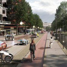 Šešios idėjos, kurios ateityje pakeis važiavimo mieste įpročius