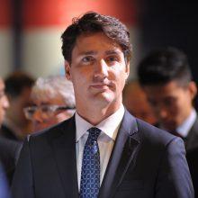 J. Trudeau ragina kanadiečius negyventi baimėje