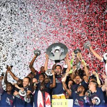 """Fantastiškas """"Monaco"""" sezonas vainikuotas Prancūzijos čempionų titulu"""
