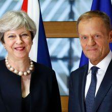 """T. May siūlo, kad po """"Brexit"""" ES piliečiai galėtų likti šalyje <span style=color:red;>(papildyta)</span>"""