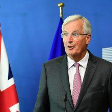 M. Barnier: pereinamuoju laikotarpiu Britanija turės laikytis ES įstatymų