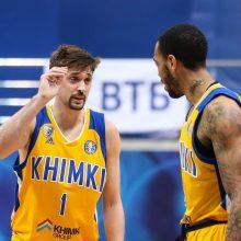 """""""Chimki"""" krepšininkai įveikė svečius iš Ispanijos"""
