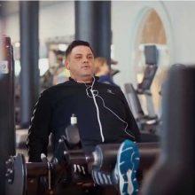 35 kg atsikratęs V. Cololo: anksčiau vienu prisėdimu galėjau suvalgyti kiaulės karką