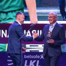 Vilniuje uždarytas 25-asis LKL sezonas, apdovanoti laureatai
