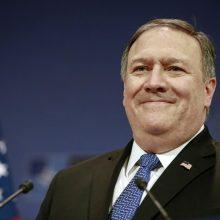 Baltieji rūmai: M. Pompeo pasiruošęs vėl susitikti su Šiaurės Korėjos vadovu