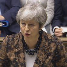 Th. May: įgyvendinti referendumu pareikštą žmonių valią – mūsų pareiga