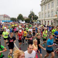 Vilniaus maratone sekmadienį laukiama 15-os tūkst. dalyvių