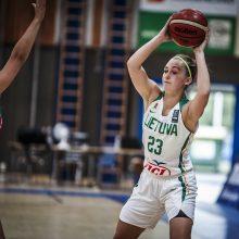 18-metės Lietuvos krepšininkės Austrijoje žengė į pusfinalį