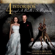 """""""Girstučio"""" kultūros centre – """"4 istorijos pagal A. Bocelli ir S. Brightman"""""""