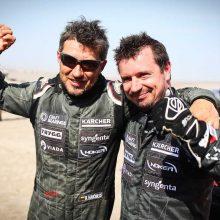 A. Juknevičius įvertino savo 10-ą Dakarą: mums tai – viena sunkiausių patirčių