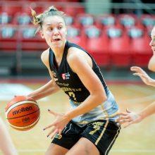 """""""Kibirkšties"""" krepšininkės baigė pasirodymą Europos moterų lygoje"""