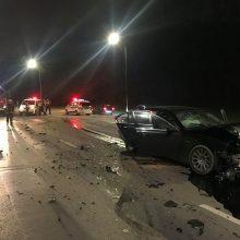 Kaune per neblaivaus vairuotojo sukeltą avariją sužalojimus patyrė vyras ir moteris