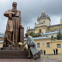 Ukrainos Lvovo sritis uždraudė knygas, filmus ir dainas rusų kalba