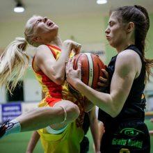 """""""Fortūnos"""" krepšininkės pergale baigė Baltijos čempionato reguliarųjį sezoną"""