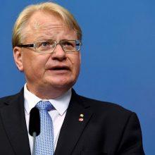 Švedijos gynybos ministras: neramumus Baltijos jūros regione spręstume visi