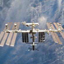 Moksleiviai bendraus su Tarptautinės kosminės stoties astronautais