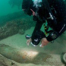 Prie Portugalijos krantų rastos prieš keturis šimtmečius nuskendusio laivo liekanos