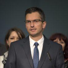 Slovėnijos parlamentas premjeru patvirtino centro kairiųjų pažiūrų M. Šarecą