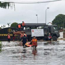 Tailande kilę potvyniai nusinešė 23 gyvybes