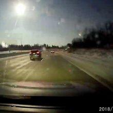 Meteoras ne tik nušvietė Mičigano dangų, bet ir sukėlė žemės drebėjimą