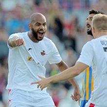 """Čempionų lygos atranka: """"Sūduvos"""" futbolininkai nubloškė APOEL"""