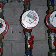 Kitąmet vilniečiams mažės karšto vandens skaitiklių priežiūros mokestis