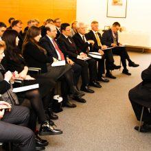 A. Kubilius kandidatuoja į Europos Tarybos generalinio sekretoriaus pareigas