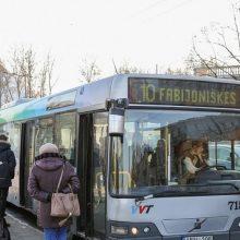 Nuo penktadienio – daugiau naujų autobusų Vilniaus viešajame transporte