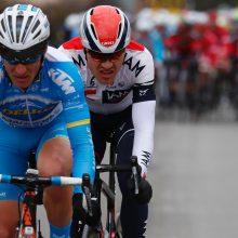 E. Šiškevičius Prancūzijoje pelnė agresyviausio lenktynių dviratininko titulą