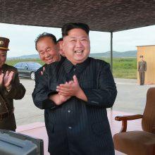 JAV perspėja: Šiaurės Korėja bus sunaikinta, jei grasinimai tęsis