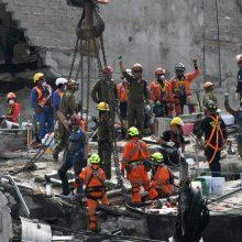 Pietų Meksikoje – dar vienas stiprus žemės drebėjimas