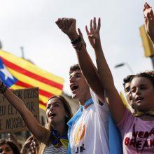 Galutiniai rezultatai: Katalonijos nepriklausomybei pritarė 90 proc. dalyvavusiųjų