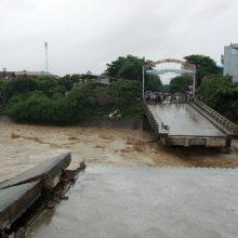Vietname per potvynius ir žemės nuošliaužas žuvo 37 žmonės