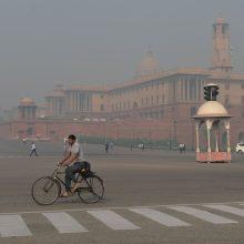 Vienas iš šešių žmonių pasaulyje miršta dėl oro užterštumo