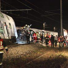 Austrijoje susidūrus priemiestiniams traukiniams sužeisti aštuoni žmonės