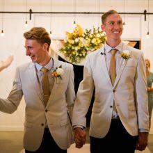 Visoje Australijoje vidurnaktį buvo registruojamos gėjų santuokos