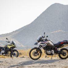 """""""BMW Motorrad"""" tarptautinėje parodoje pristato keturias naujienas"""