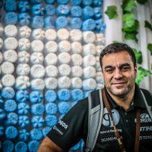 Dakare B. Vanagui padeda ir argentinietis