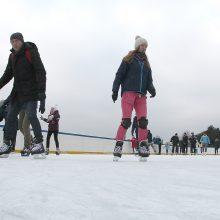 Nemokamos čiuožyklos darbą stabdo trikdžiai