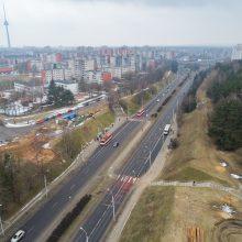 Pradėtas statyti viadukas per avaringą T. Narbuto gatvę <span style=color:red;>(bus eismo pokyčių)</span>